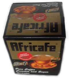 Africafe 3 in 1 Pure Instant Coffee Mix