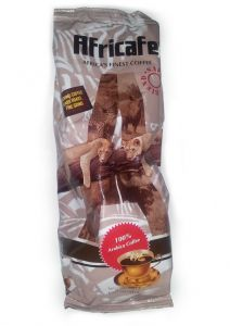 Africafe Coffee Beans SB (Dark Roast) in a 500 gram